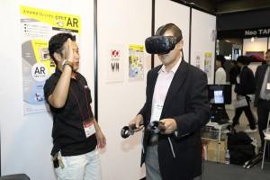 CG工房ブース(JAPANTEX2016)