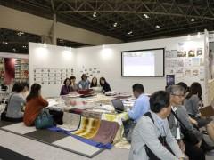 暮らしぼっこブース(JAPANTEX2016)