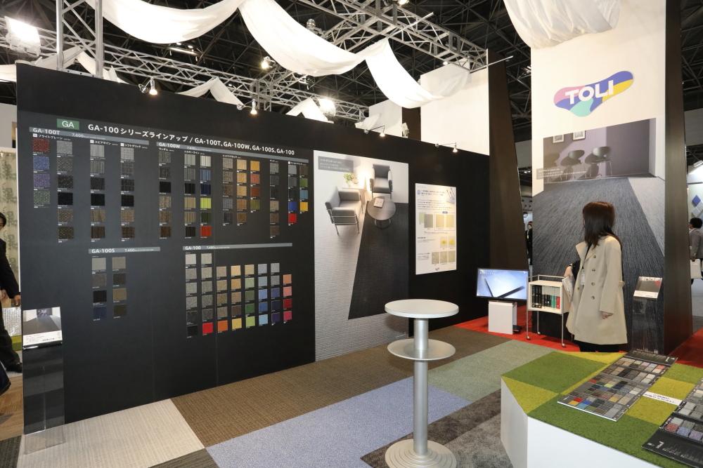TOLI booth JAPANTEX2017